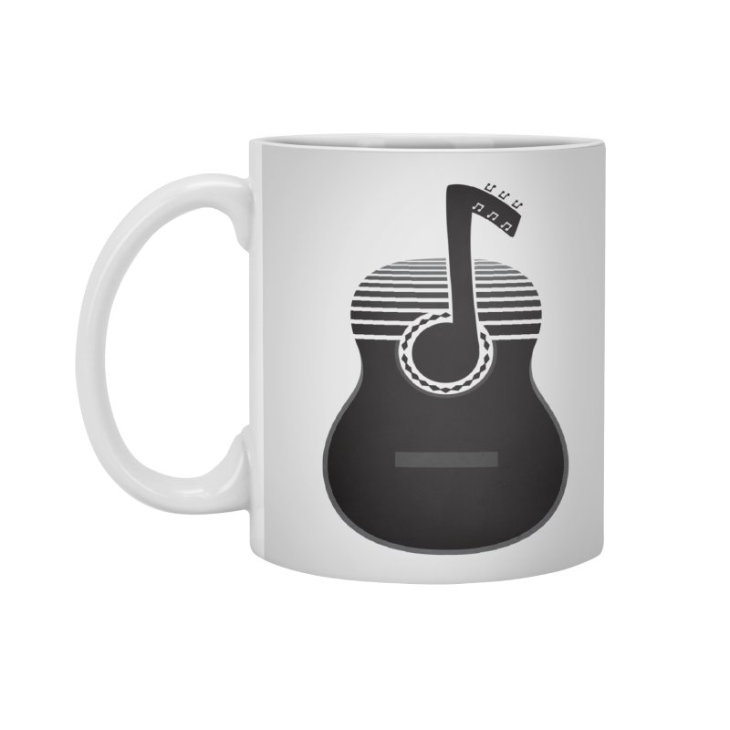 Classical Notes Accessories Standard Mug by DavidBS