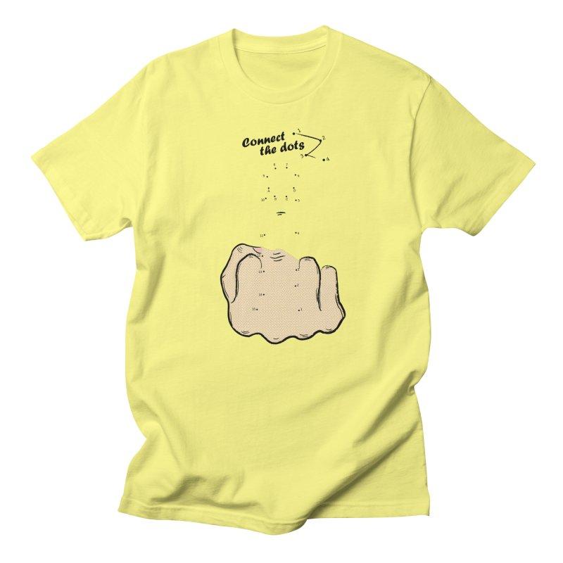 Connect the Dots Men's Regular T-Shirt by DavidBS