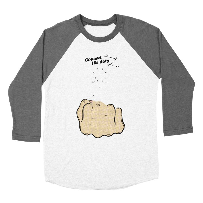 Connect the Dots Men's Baseball Triblend T-Shirt by DavidBS