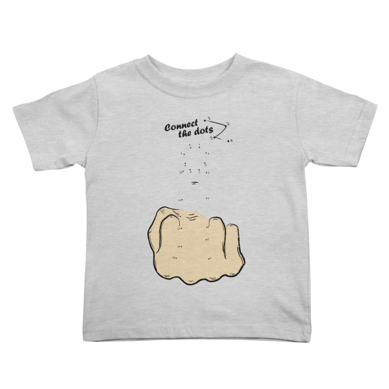Connect the Dots Kids Toddler T-Shirt by DavidBS