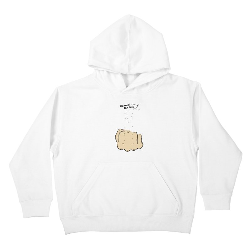 Connect the Dots Kids Pullover Hoody by DavidBS