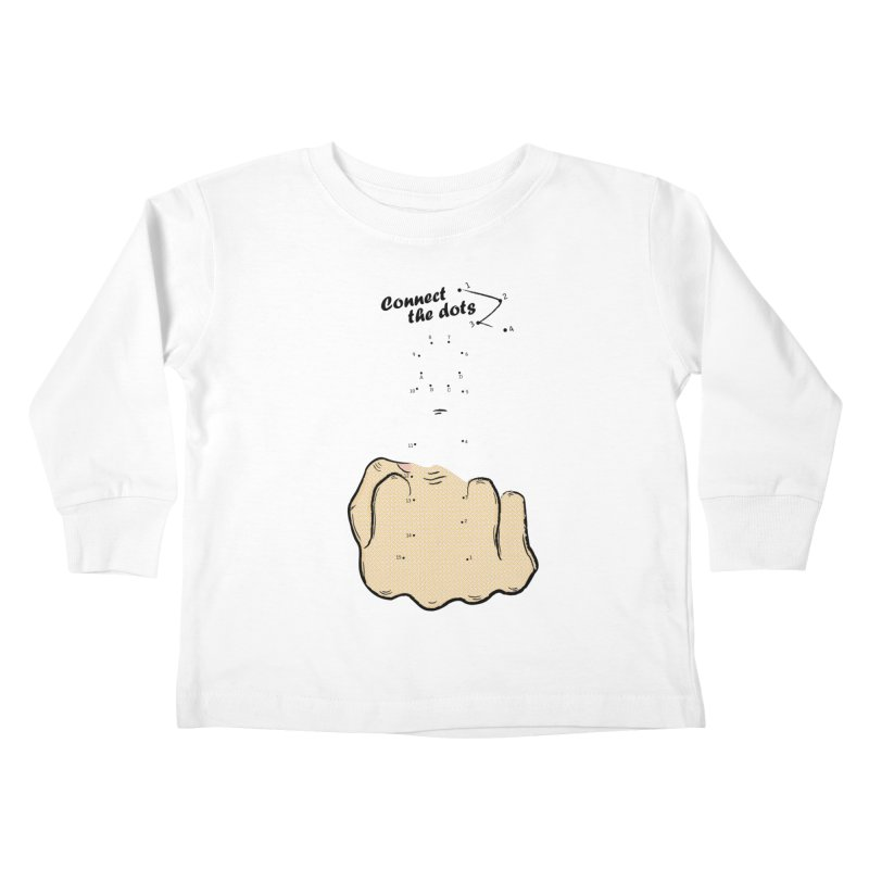 Connect the Dots Kids Toddler Longsleeve T-Shirt by DavidBS
