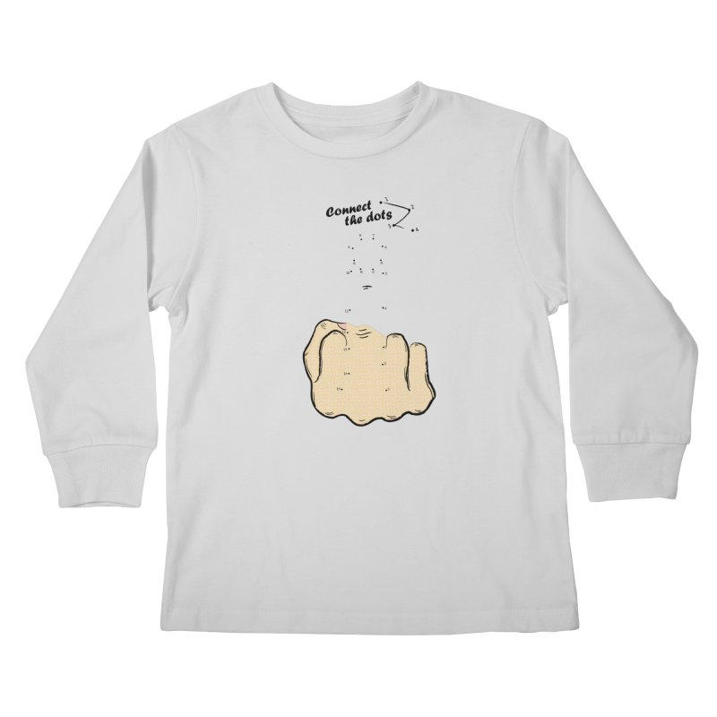 Connect the Dots Kids Longsleeve T-Shirt by DavidBS