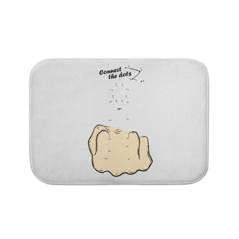 Connect the Dots Home Bath Mat by DavidBS