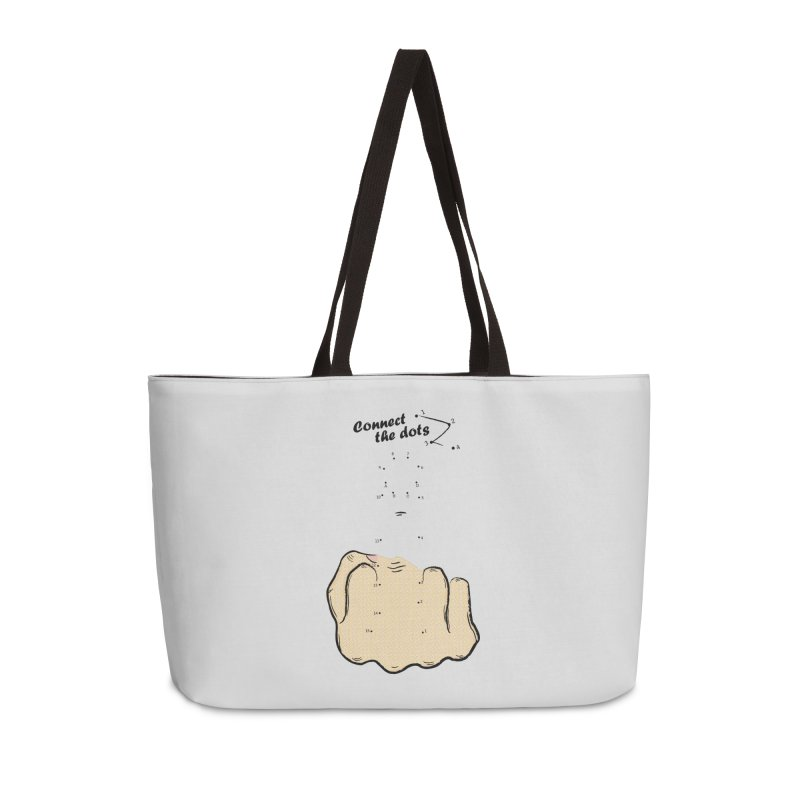Connect the Dots Accessories Weekender Bag Bag by DavidBS
