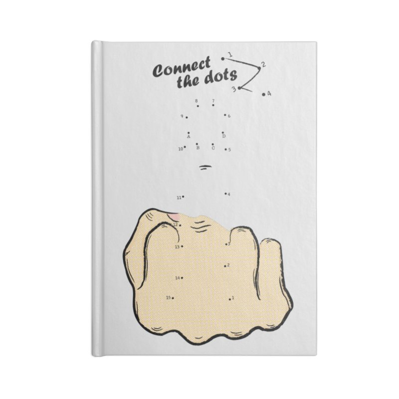 Connect the Dots Accessories Blank Journal Notebook by DavidBS