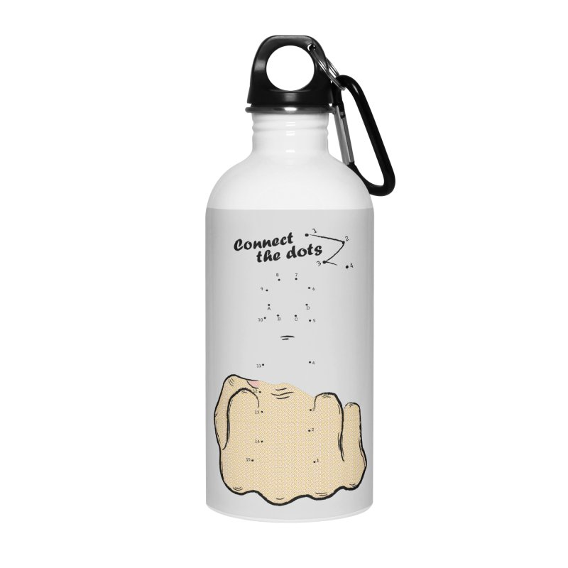Connect the Dots Accessories Water Bottle by DavidBS