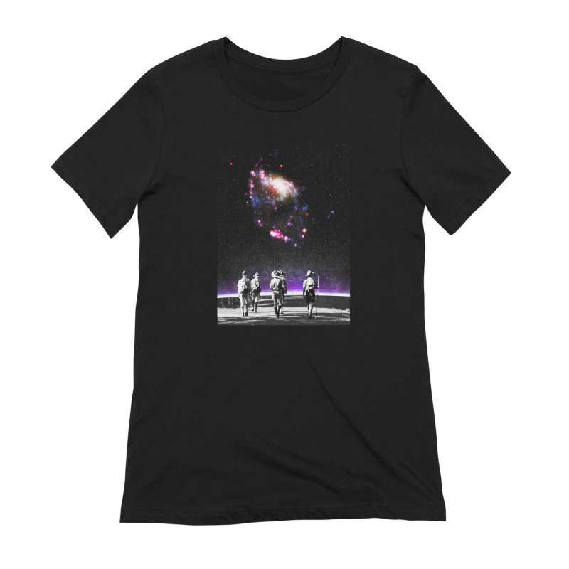 Explore the Unknown Women's Extra Soft T-Shirt by DavidBS