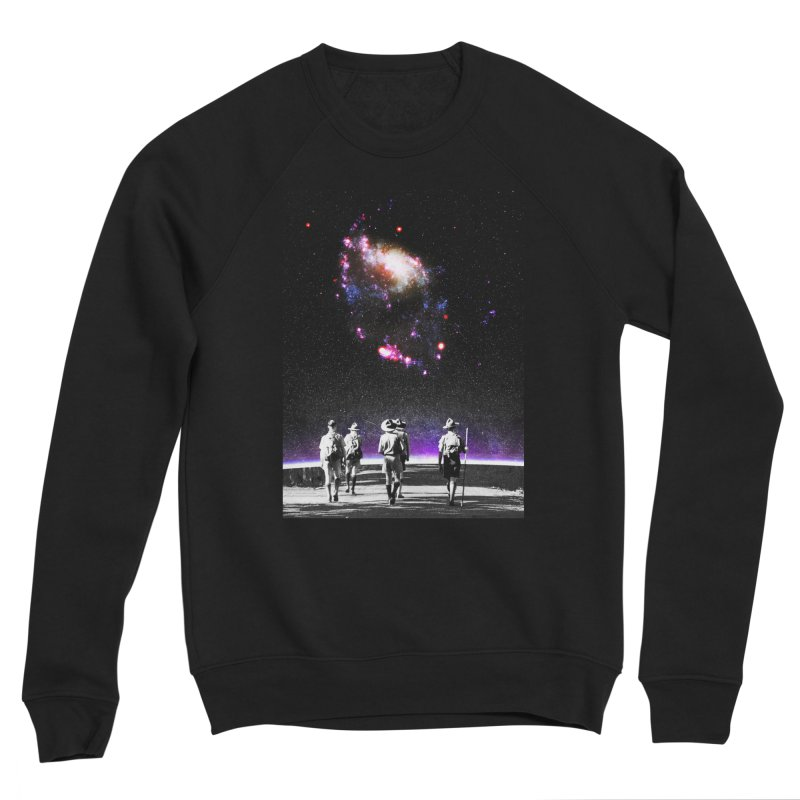Explore the Unknown Men's Sponge Fleece Sweatshirt by DavidBS