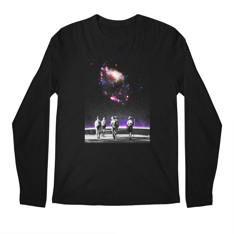 Explore the Unknown Men's Regular Longsleeve T-Shirt by DavidBS