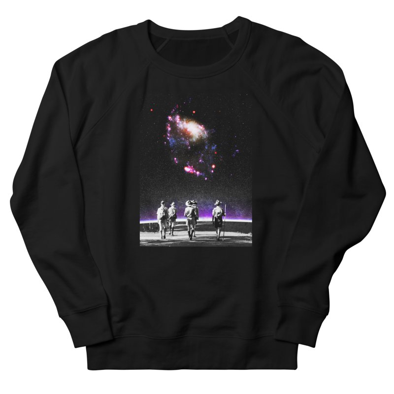 Explore the Unknown Women's French Terry Sweatshirt by DavidBS