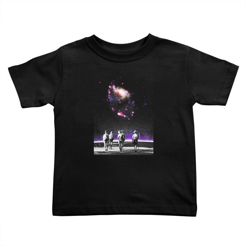 Explore the Unknown Kids Toddler T-Shirt by DavidBS
