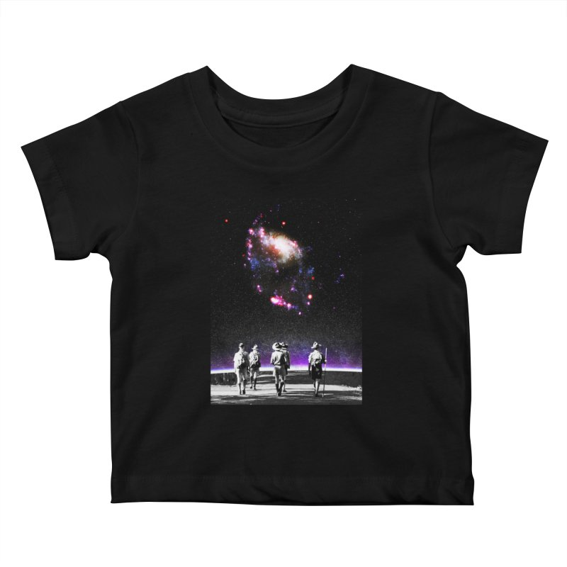 Explore the Unknown Kids Baby T-Shirt by DavidBS