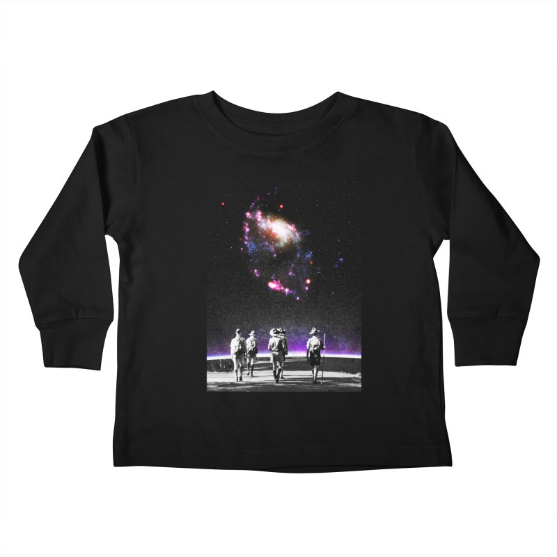 Explore the Unknown Kids Toddler Longsleeve T-Shirt by DavidBS