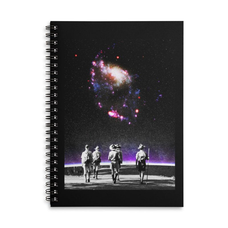 Explore the Unknown Accessories Lined Spiral Notebook by DavidBS