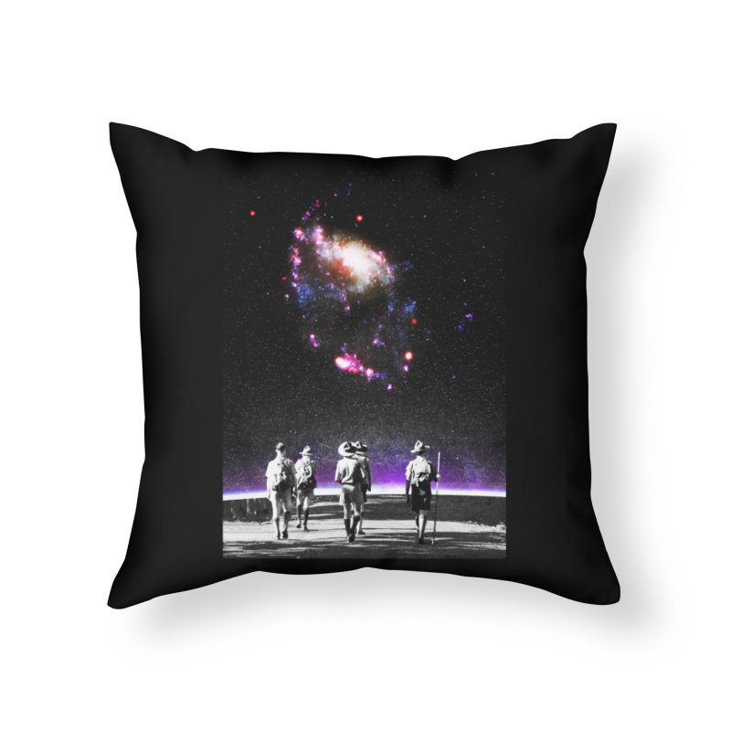 Explore the Unknown Home Throw Pillow by DavidBS