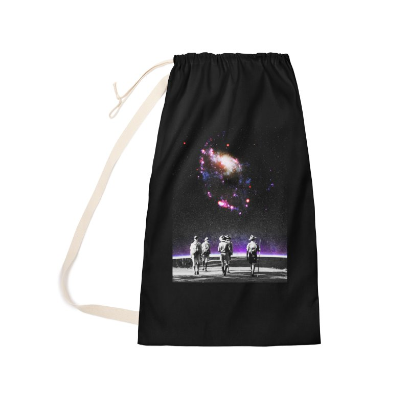 Explore the Unknown Accessories Laundry Bag Bag by DavidBS