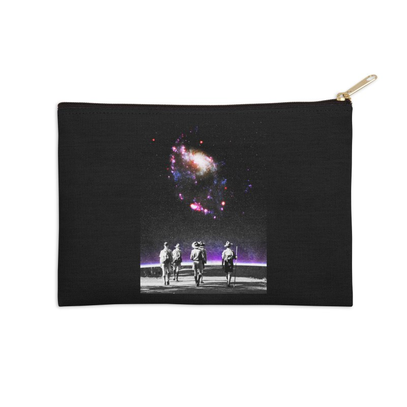 Explore the Unknown Accessories Zip Pouch by DavidBS