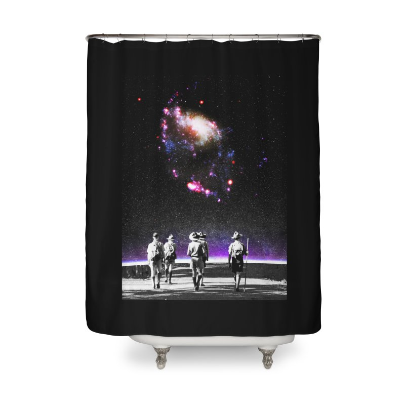 Explore the Unknown Home Shower Curtain by DavidBS
