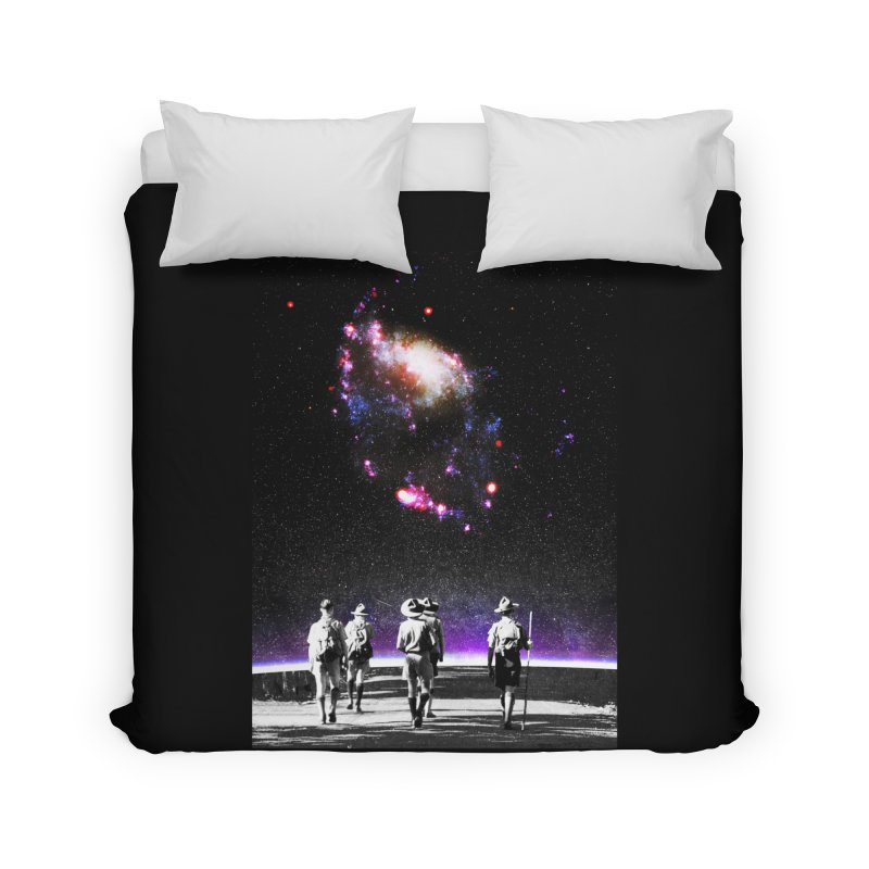Explore the Unknown Home Duvet by DavidBS