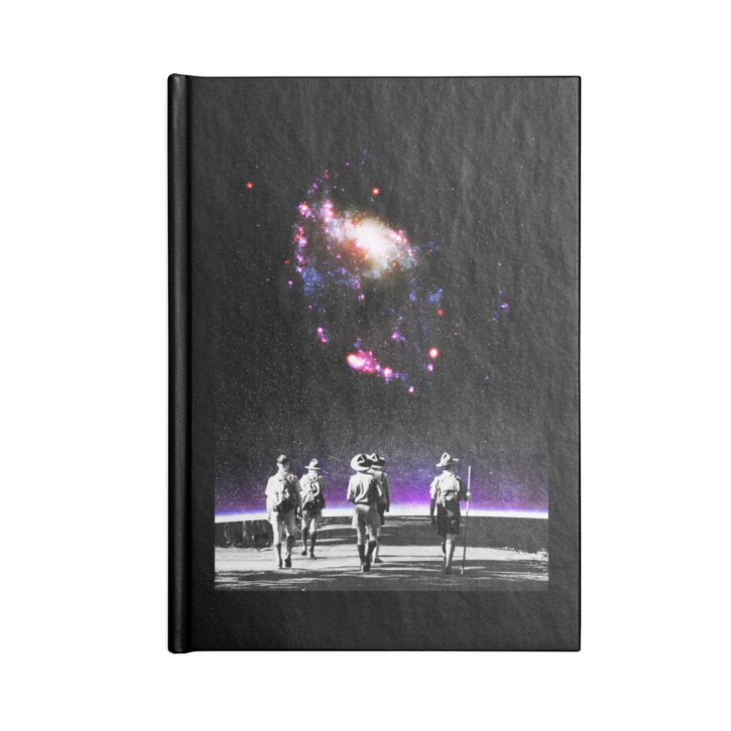 Explore the Unknown Accessories Blank Journal Notebook by DavidBS