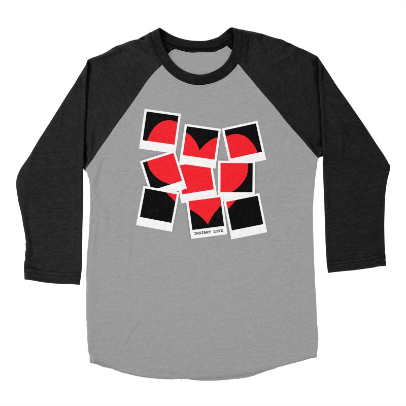 Instant Love Men's Baseball Triblend Longsleeve T-Shirt by DavidBS