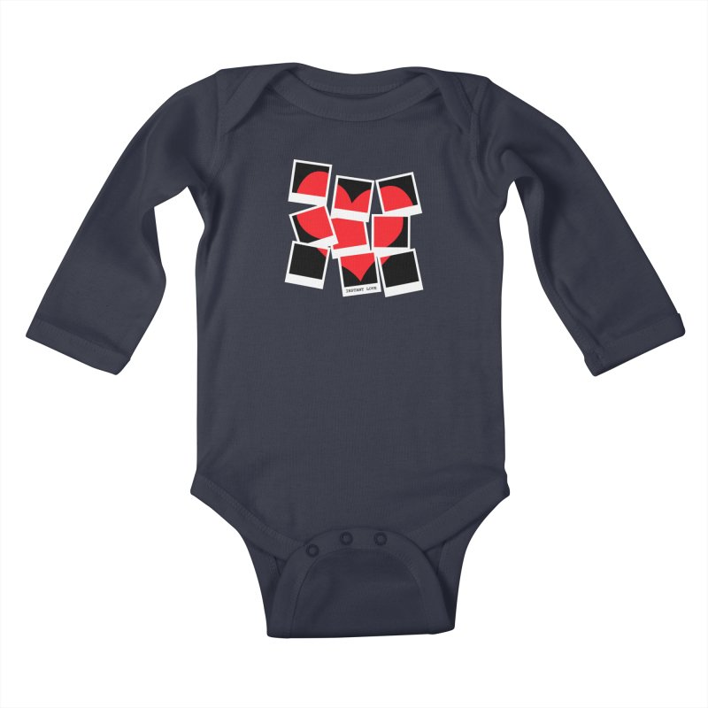 Instant Love Kids Baby Longsleeve Bodysuit by DavidBS