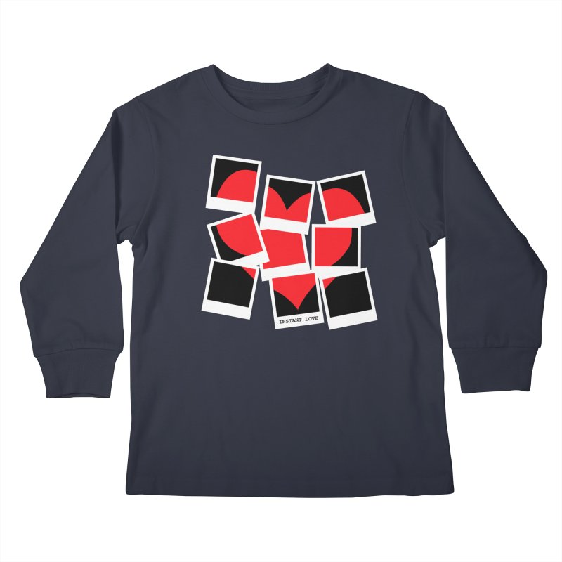 Instant Love Kids Longsleeve T-Shirt by DavidBS