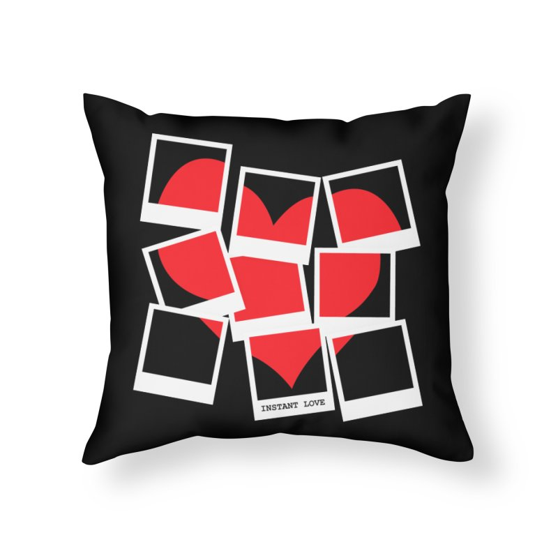 Instant Love Home Throw Pillow by DavidBS