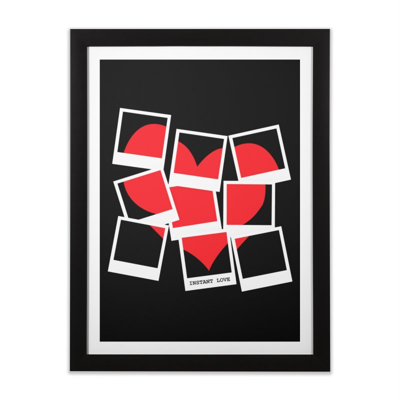 Instant Love Home Framed Fine Art Print by DavidBS