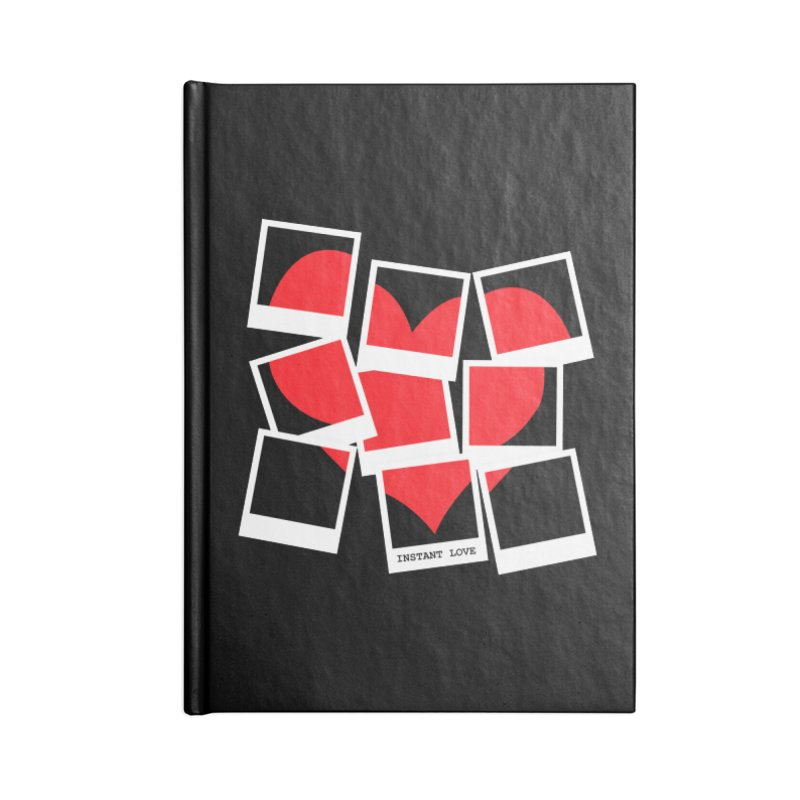 Instant Love Accessories Lined Journal Notebook by DavidBS