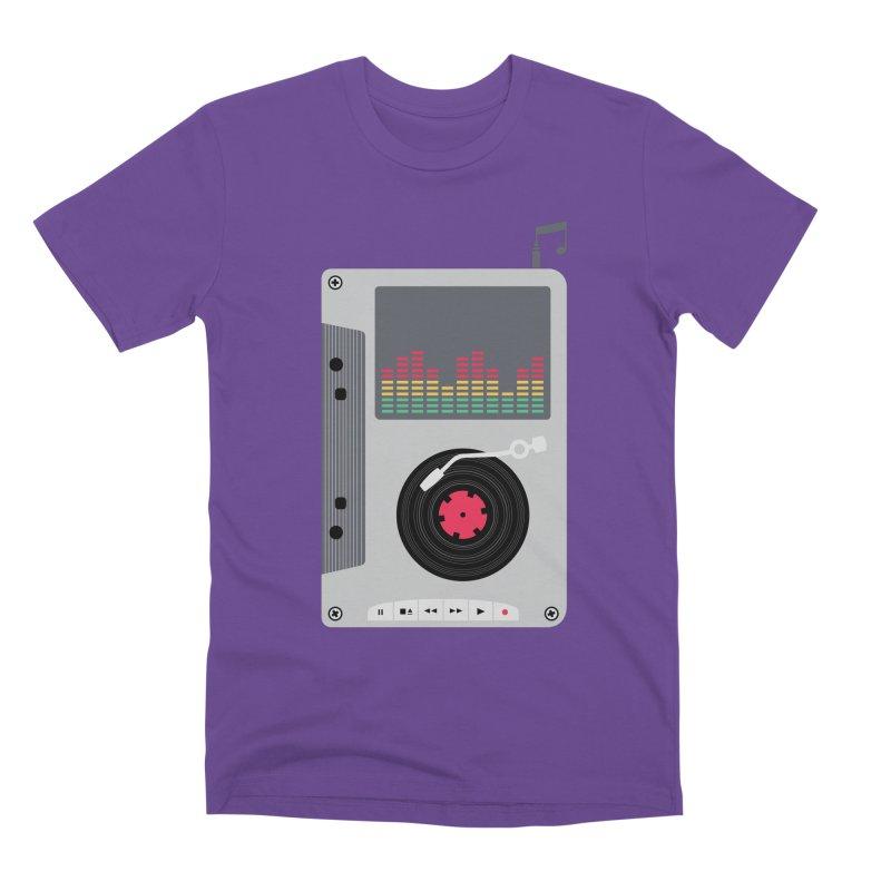 Music Mix Men's Premium T-Shirt by DavidBS