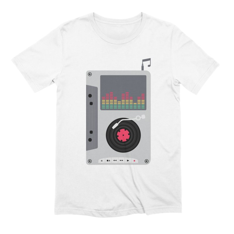 Music Mix Men's Extra Soft T-Shirt by DavidBS