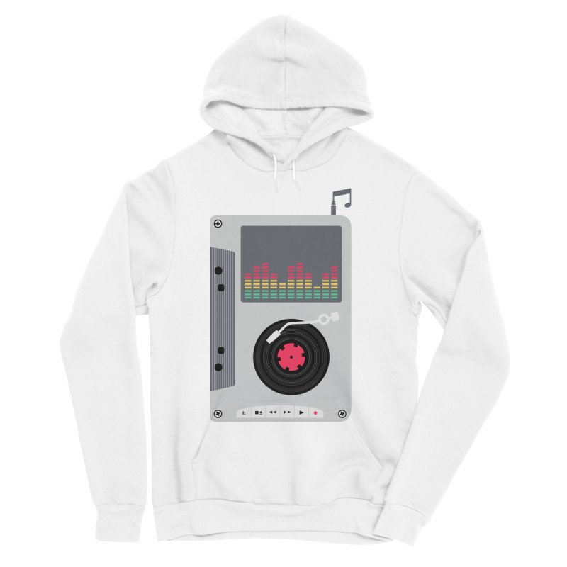 Music Mix Women's Sponge Fleece Pullover Hoody by DavidBS