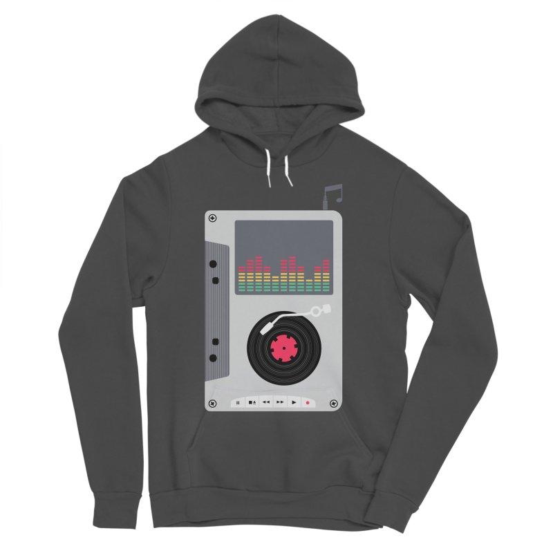Music Mix Women's Sponge Fleece Pullover Hoody by DavidBS