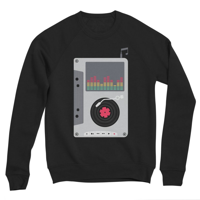 Music Mix Men's Sponge Fleece Sweatshirt by DavidBS
