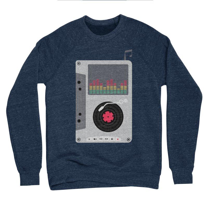 Music Mix Men's Sponge Fleece Sweatshirt by DavidBS