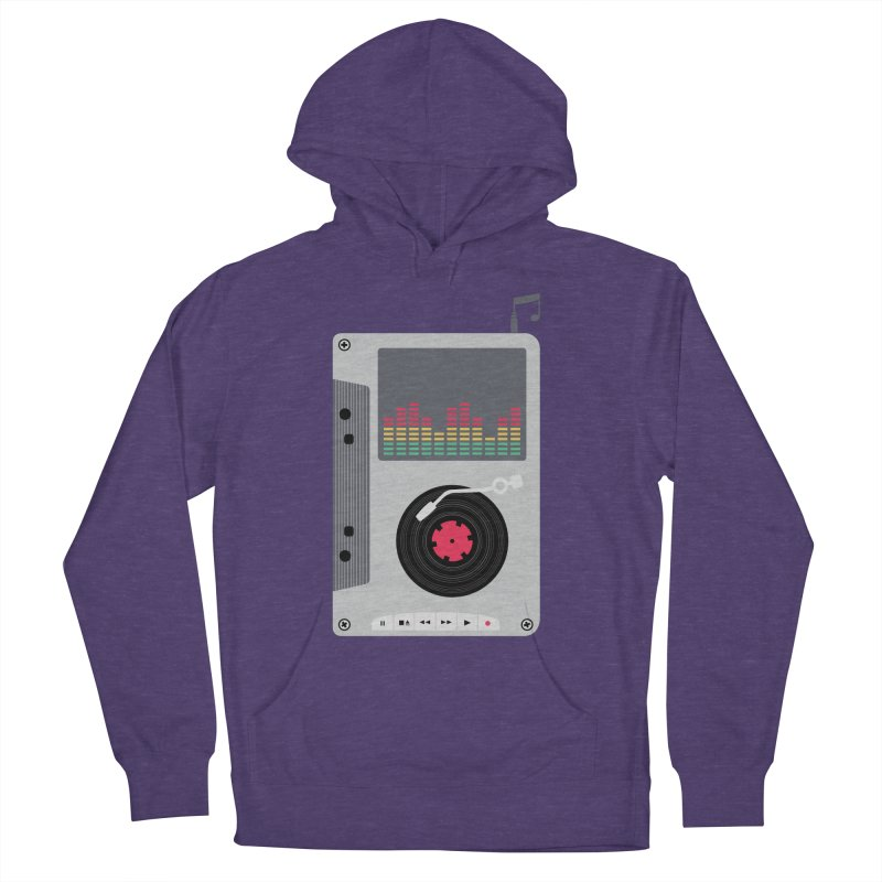 Music Mix Men's French Terry Pullover Hoody by DavidBS