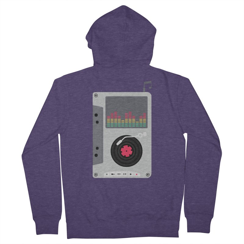 Music Mix Men's Zip-Up Hoody by DavidBS