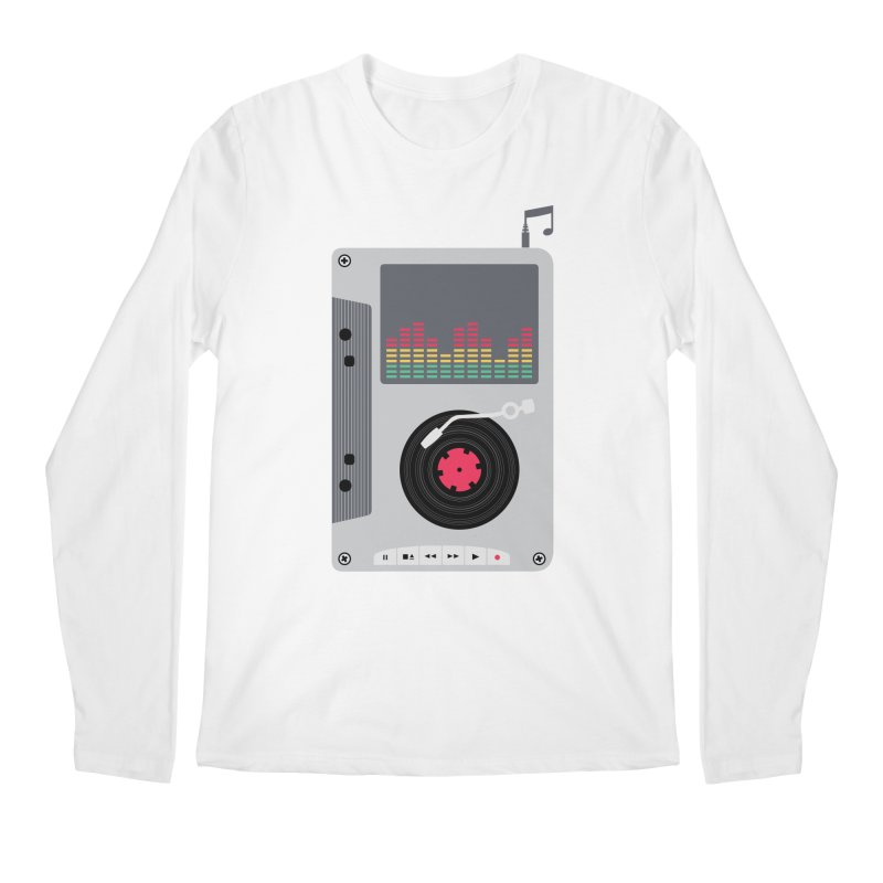 Music Mix Men's Longsleeve T-Shirt by DavidBS