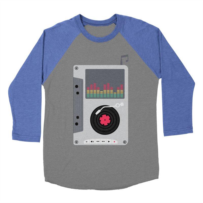 Music Mix Women's Baseball Triblend Longsleeve T-Shirt by DavidBS