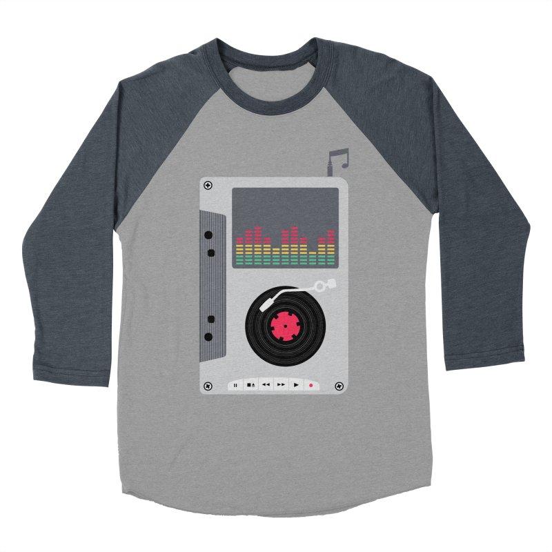 Music Mix Men's Baseball Triblend Longsleeve T-Shirt by DavidBS