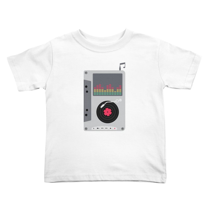 Music Mix Kids Toddler T-Shirt by DavidBS