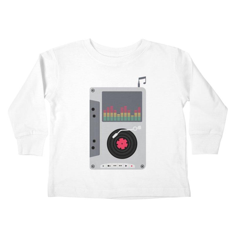 Music Mix Kids Toddler Longsleeve T-Shirt by DavidBS