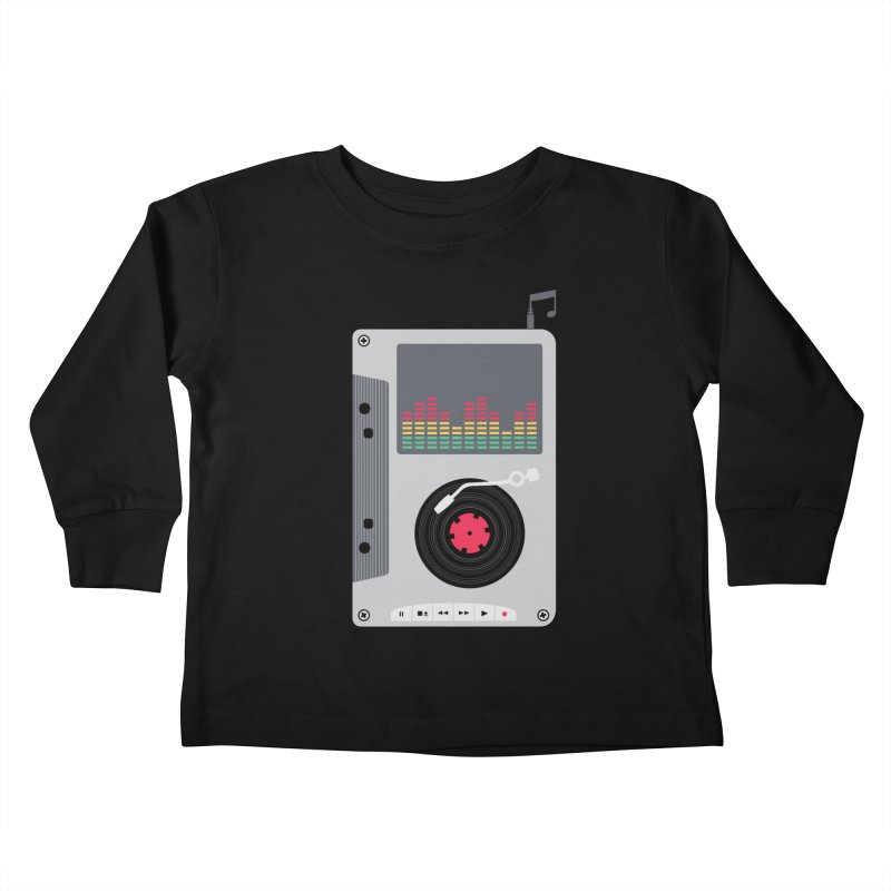 Music Mix Kids Toddler Longsleeve T-Shirt by DavidBS