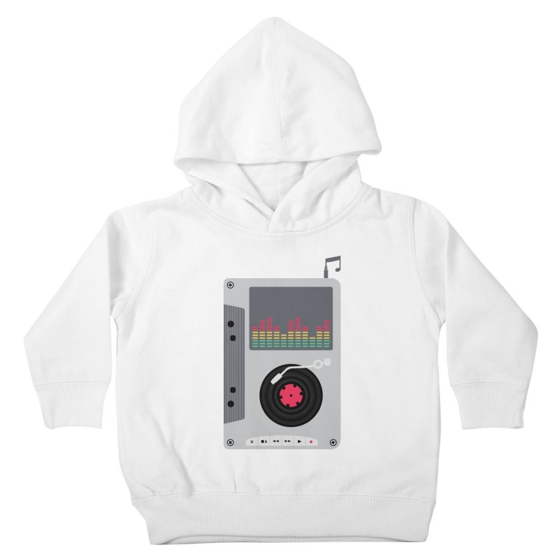 Music Mix Kids Toddler Pullover Hoody by DavidBS