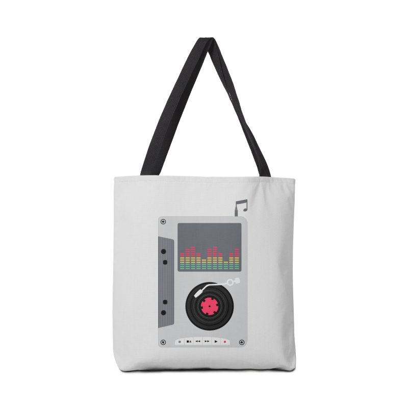 Music Mix Accessories Tote Bag Bag by DavidBS