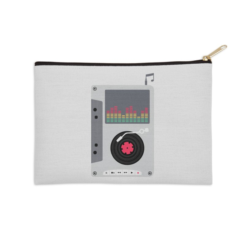 Music Mix Accessories Zip Pouch by DavidBS