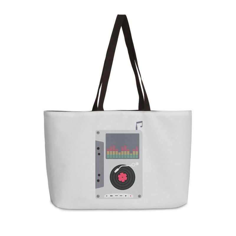 Music Mix Accessories Weekender Bag Bag by DavidBS