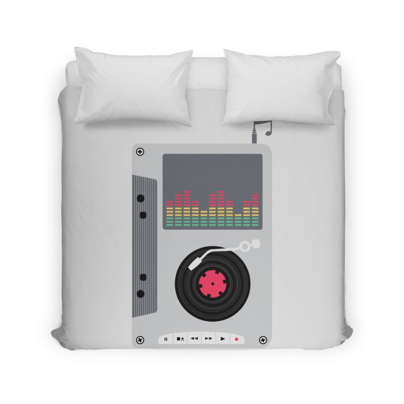 Music Mix Home Duvet by DavidBS